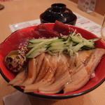あっぱれ寿司 - 穴子とづけ丼 880円(税別)