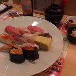 あっぱれ寿司 - 板さん特撰盛り 1480円(税別)