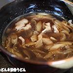 武州うどん江川 - 肉汁