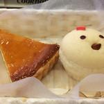 クックハウス - アップルチーズケーキとコケッコ