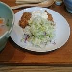 赤坂うまや - チキン南蛮豚汁