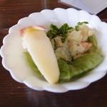 37633961 - 野菜カレーのサラダ