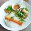 里日和 - 料理写真:長沼ハンバーグプレート<和風醤油ソース>1,650円