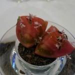ラ・リューン - アミューズのスーパートマト