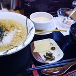 海舟 - あんかけウニ飯(1385円)