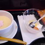 37639954 - 茶碗蒸しとデザート