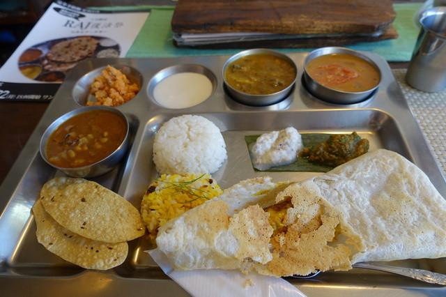 南インド家庭料理 カルナータカー - ランチAセット☆
