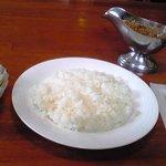 せんごく亭 - 料理写真:マスターのキーマカレー(¥900)