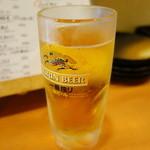 手羽先の羽 - ☆生ビール泡なし☆