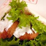 ワタナベナンバン - 【期間限定】鰆+大葉+チーズのフライ。これ、おいし~!提供期間はずっとリピートします!