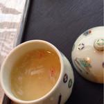 スラローム - 一口茶碗蒸しは餡掛けでした
