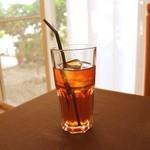プリモピアット - 紅茶、アイスコーヒーは飲み放題です(^ ^)