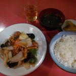 北京亭 - 酢豚定食¥850-