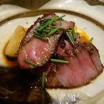 37643470 - ☆和牛のステーキはタレが絶妙です(≧▽≦)/~♡☆