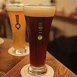 37643670 - 宮崎ひでじビール 月のピルスナー(手前)/風の谷のビール ピルスナー(奥)