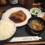 37643749 - 魚定食(かれいの煮付け)