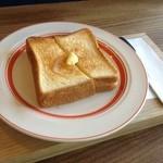 カヤノ コーヒー - 厚切りバタートースト