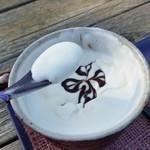 仏果堂 - キメの細かい、しっとりとしたクリーム
