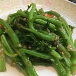 竹琳 - 中国野菜の炒め アップ