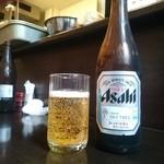 鰻禅 - ビール