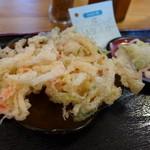 福中 - かきあげ(別注だと100円)