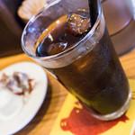 HONMACHI 豚テキ - 時間帯によってはアイスコーヒー付き