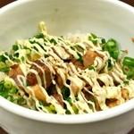 麺屋 あさ蔵 - 焼豚めし(マヨネーズ有)