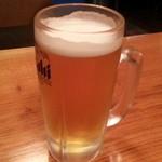 居酒屋ななちゃん - 2013/05/28 21:25訪問 生ビール