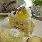 Torte - キャラメル(米粉のシフォンケーキ&クッキー)