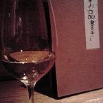 魚匠 銀平 - 白ワインとお品書き