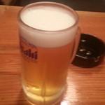 居酒屋ななちゃん - 2013/07/26 21:20訪問 生ビール