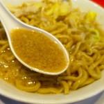麺屋 あっ晴れ - 背脂たっぷりガツンと濃厚なスープ