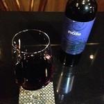 WAKA - ドリンク写真:スペイン産のガルナッチャ種の赤ワイン