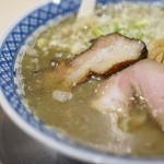 食堂七彩 - type-SAの塩 煮干しガッツリ!