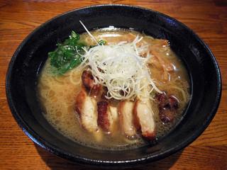 麺処 鳴神 - 白湯 しょうゆ らーめん