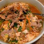 韓屋台 李俊 - 「温麺」辛い or 辛くないはお好みで。リピーター多し!