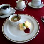 レストラン ラ・メール - デザート&コーヒー