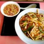 彩‐彩 - 肉かけご飯¥896