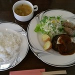 cafe パティオ - 日替わりランチ