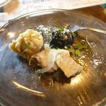バール aBuku - パスタセットの前菜盛り