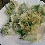 37666242 - 山菜の天ぷら