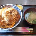 ラブ - カツ丼・味噌汁付(700円)