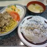 37666600 - からし焼肉ランチ(¥680)