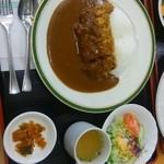 安達太良サービスエリア(上り線) レストラン・スナックコーナー - 安達太良カレー!