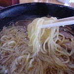 公園茶屋 国界 - 中細ちぢれ麺