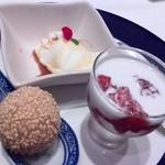 チャイニーズ 芹菜 - デザート3種