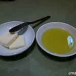 マンマパスタ - 希望すればバター&オリーブオイルが付きます