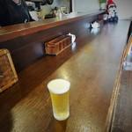 野分 - 100円ビールとカウンター