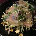 ビービーキューライフ - 料理写真:白身魚のカルパッチョ