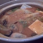 海平商店 - 牡蠣味噌バター鍋